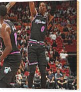 Josh Richardson Wood Print