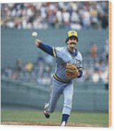 Rollie Fingers Wood Print