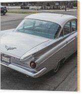 59 Buick Wood Print