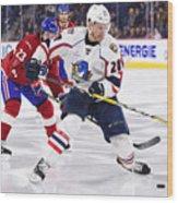 AHL: APR 06 Springfield Thunderbirds at Laval Rocket Wood Print