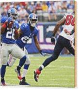 Houston Texans v New York Giants Wood Print
