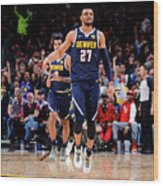 Jamal Murray Wood Print