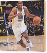 Kevon Looney Wood Print