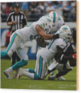 Miami Dolphins v San Diego Chargers Wood Print
