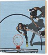 Miami Heat v Memphis Grizzlies Wood Print