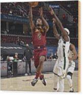 Milwaukee Bucks v Cleveland Cavaliers Wood Print