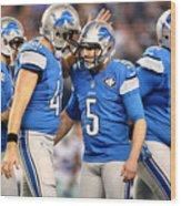 Wild Card Playoffs - Detroit Lions v Dallas Cowboys Wood Print