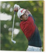 World Golf Championships-Bridgestone Invitational - Round One Wood Print