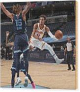 Atlanta Hawks v Memphis Grizzlies Wood Print