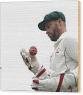 Bangladesh v Australia - 2nd Test: Day 4 Wood Print