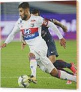 Paris Saint Germain v Olympique Lyonnais - Ligue 1 Wood Print