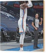 San Antonio Spurs v Oklahoma City Thunder Wood Print