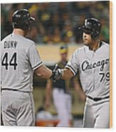 Adam Dunn Wood Print