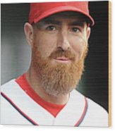 Adam Laroche Wood Print