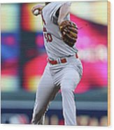 Adam Wainwright Wood Print