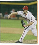 Addison Reed Wood Print