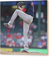 Adrian Beltre and Clay Buchholz Wood Print