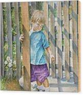 Age Of Innocence Wood Print
