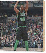 Al Horford Wood Print
