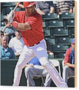 Albert Pujols Wood Print