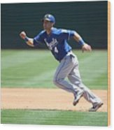 Alex Gordon Wood Print