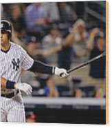 Alex Rodriguez Wood Print