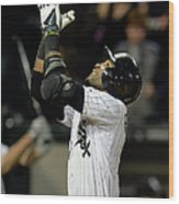 Alexei Ramirez and Adam Dunn Wood Print