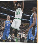 Amir Johnson Wood Print