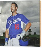 Andre Ethier Wood Print