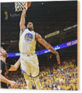 Andre Iguodala and Stephen Curry Wood Print