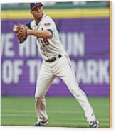 Andrelton Simmons Wood Print