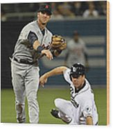 Andrew Romine and Seth Smith Wood Print