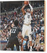 Andrew Wiggins and Vince Carter Wood Print