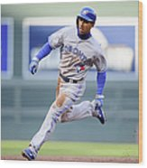 Anthony Gose Wood Print