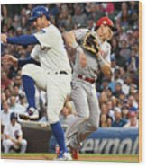 Anthony Rizzo and Derek Dietrich Wood Print