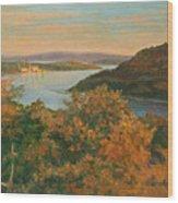 Autumn Hudson Highlands Wood Print