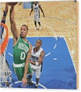 Avery Bradley Wood Print