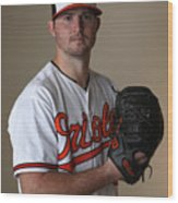 Baltimore Orioles Photo Day Wood Print