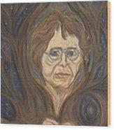 Barbara's Tree Wood Print