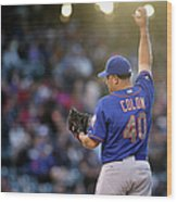 Bartolo Colon Wood Print