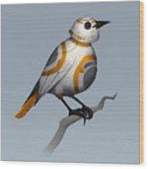BB Bird Wood Print
