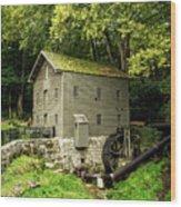 Beck's Mill - Salem, Indiana Wood Print