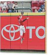 Ben Revere and Billy Hamilton Wood Print