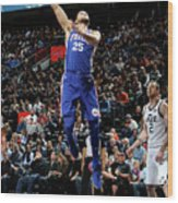Ben Simmons Wood Print