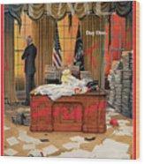 Biden Presidency - Day One Wood Print