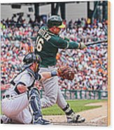 Billy Burns and Billy Butler Wood Print
