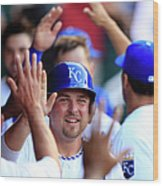 Billy Butler Wood Print