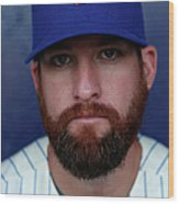 Bobby Parnell Wood Print