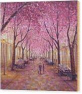 Bonn Wood Print