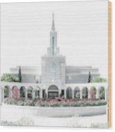 Bountiful Temple - Celestial Series Wood Print